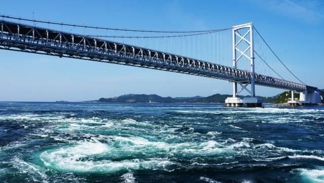 四国地方 徳島県の鳴門海峡イメージ画像