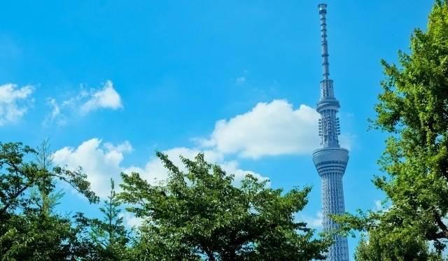 関東地方の観光地「東京スカイツリー」のイメージ画像