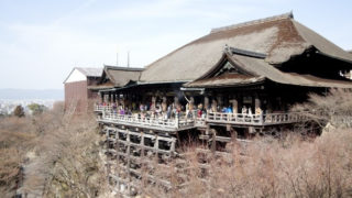 京都の清水寺