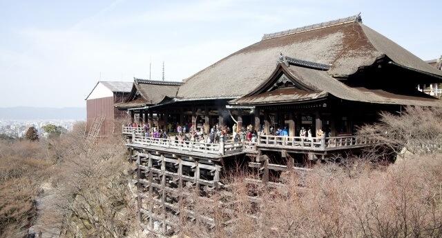 関西地方の観光地 清水寺のイメージ画像