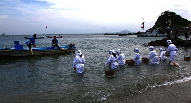 中部・東海地方の観光イメージ画像「三重の海女さん」