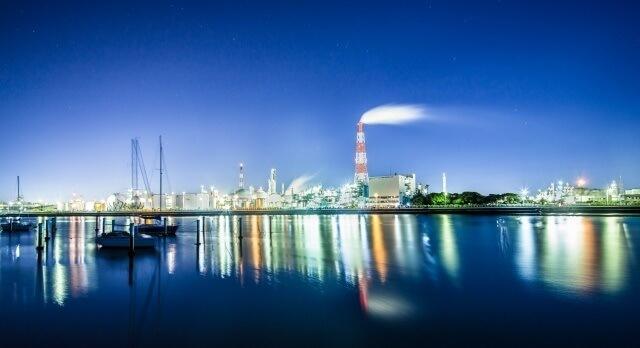 三重県の石油コンビナート イメージ画像