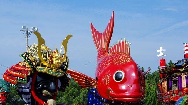 九州地方の観光名物「佐賀県の唐津君」イメージ画像
