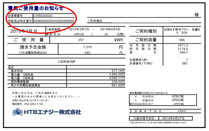 新電力会社の請求書メールのイメージ画像