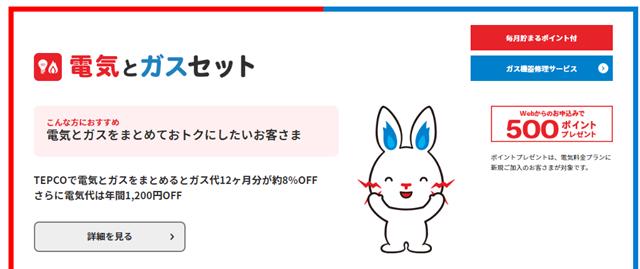 東京電力のアマゾンプライム付き「とくとくガスAPプラン」イメージ画像