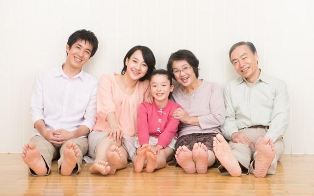 2世帯家族イメージ