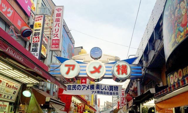アメ横商店街