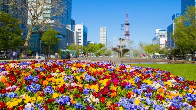 北海道のビジネス街イメージ
