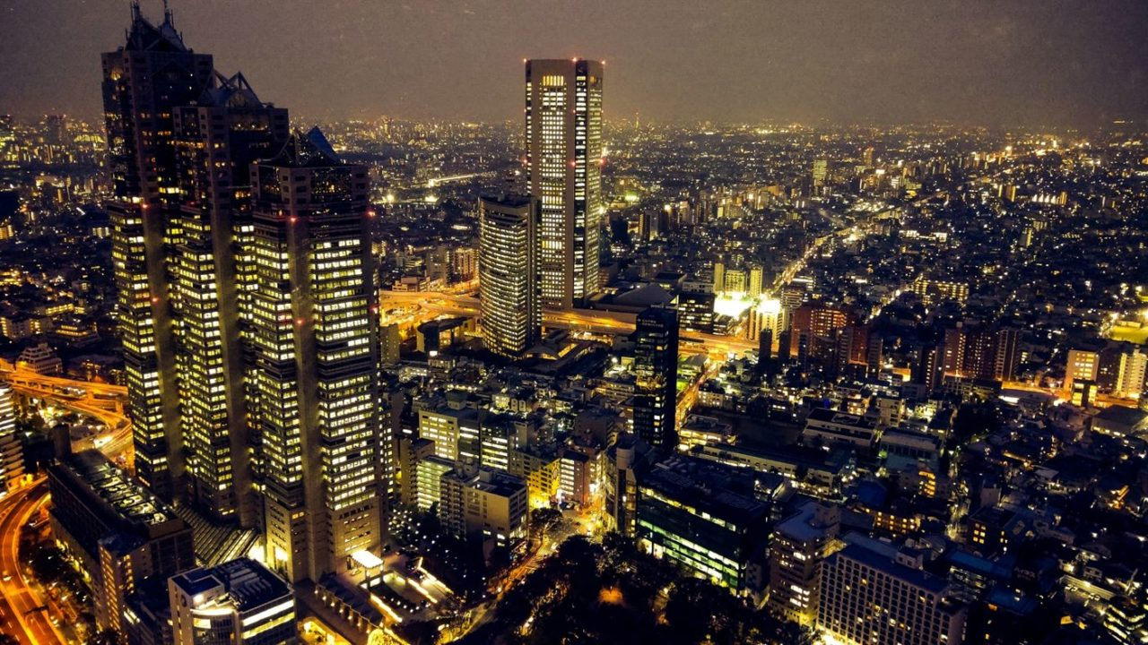 東京の夜景イメージ
