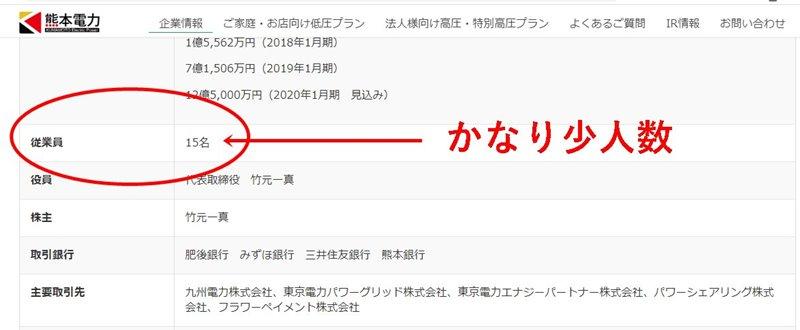 熊本電力の企業情報