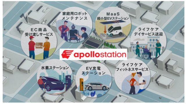 アポロステーションのイメージ