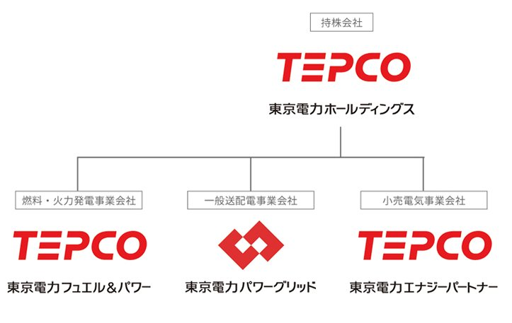東京電力ホールディングスの概要イメージ