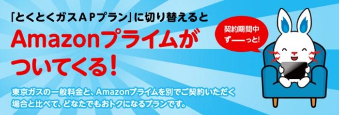 東京電力×AmazonプライムとくとくガスAPプラン